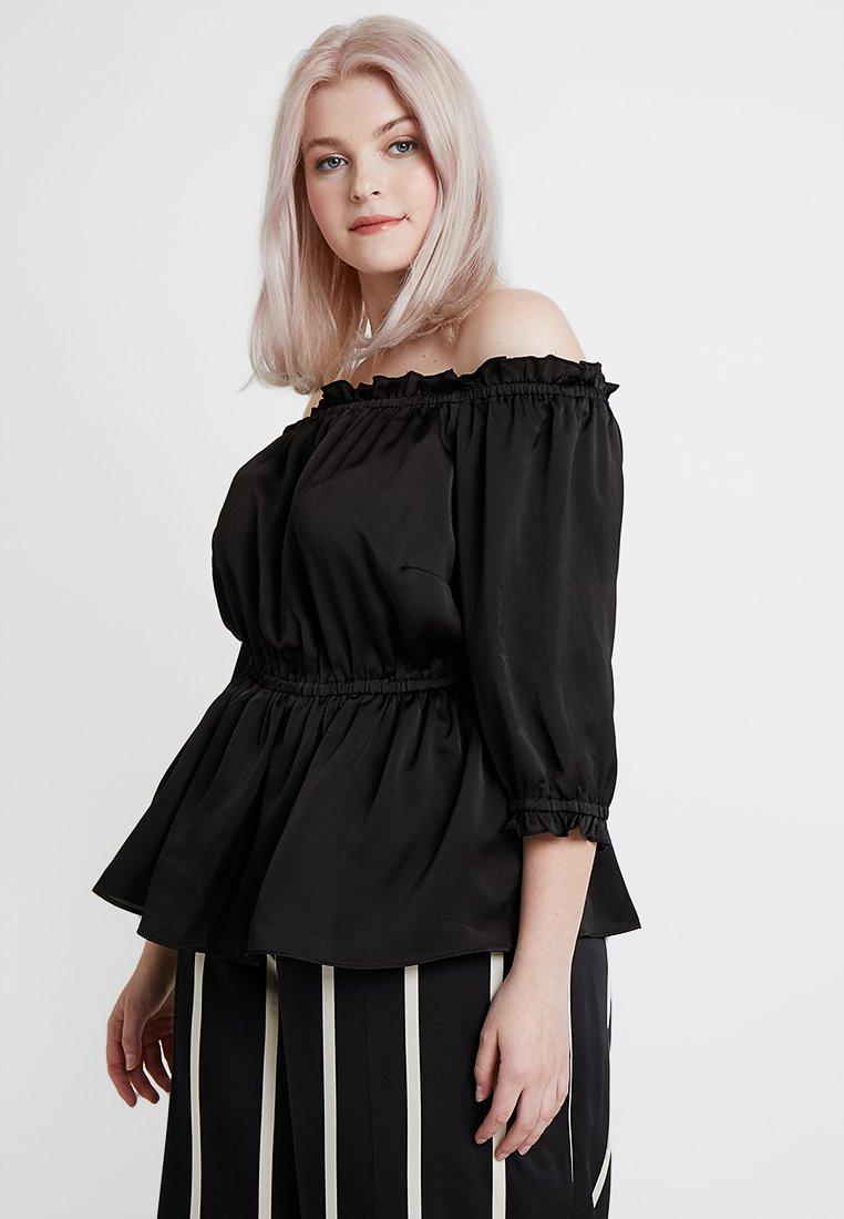 City Chic - EXCLUSIVE LOVE - Bluse - black