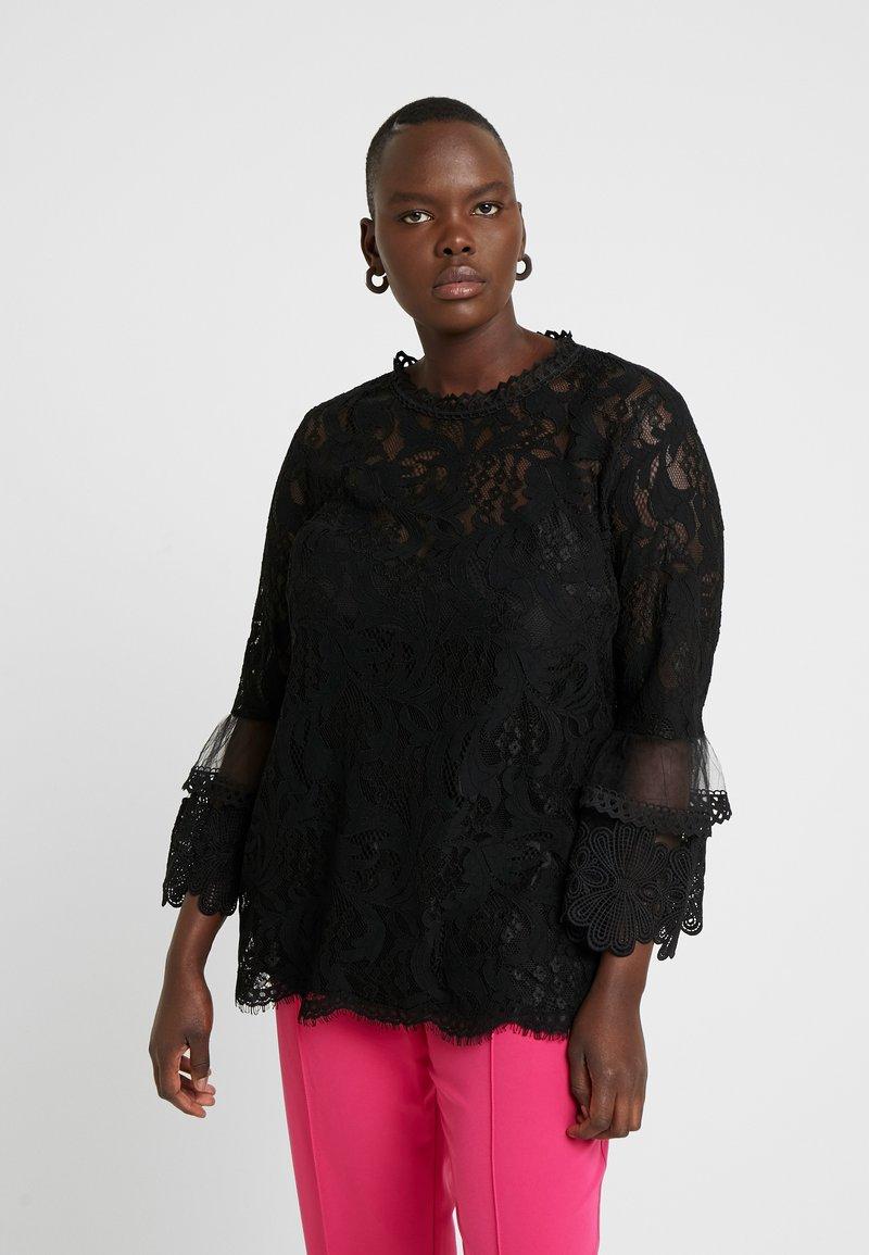 City Chic - EXCLUSIVE BEAUTY - Blouse - black
