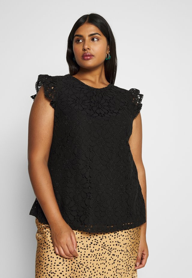 TOP ORNAMENTAL - Blouse - black
