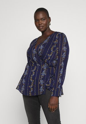 TOP PLAY - Blusa - dark blue