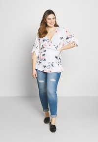 City Chic - LOTUS LUST - Blouse - off white - 1