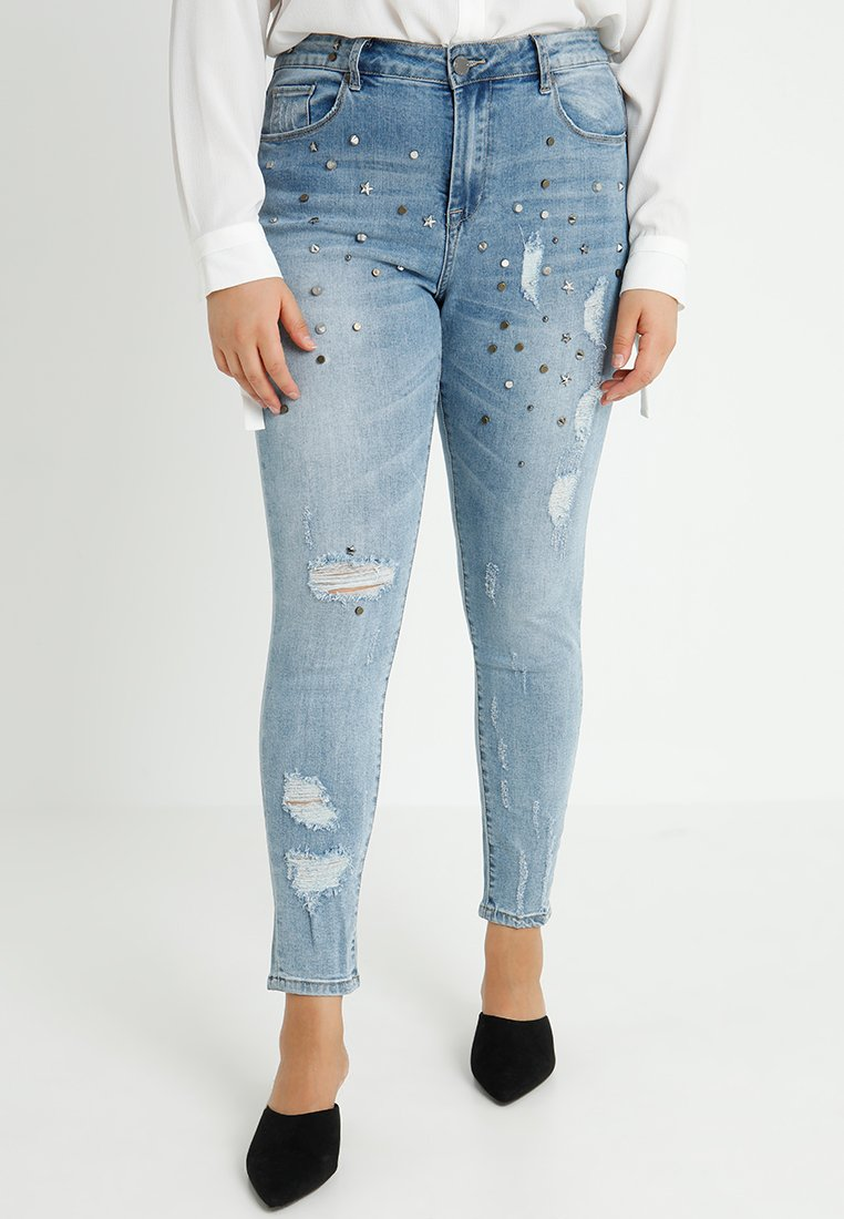City Chic - Jeans Skinny Fit - denim