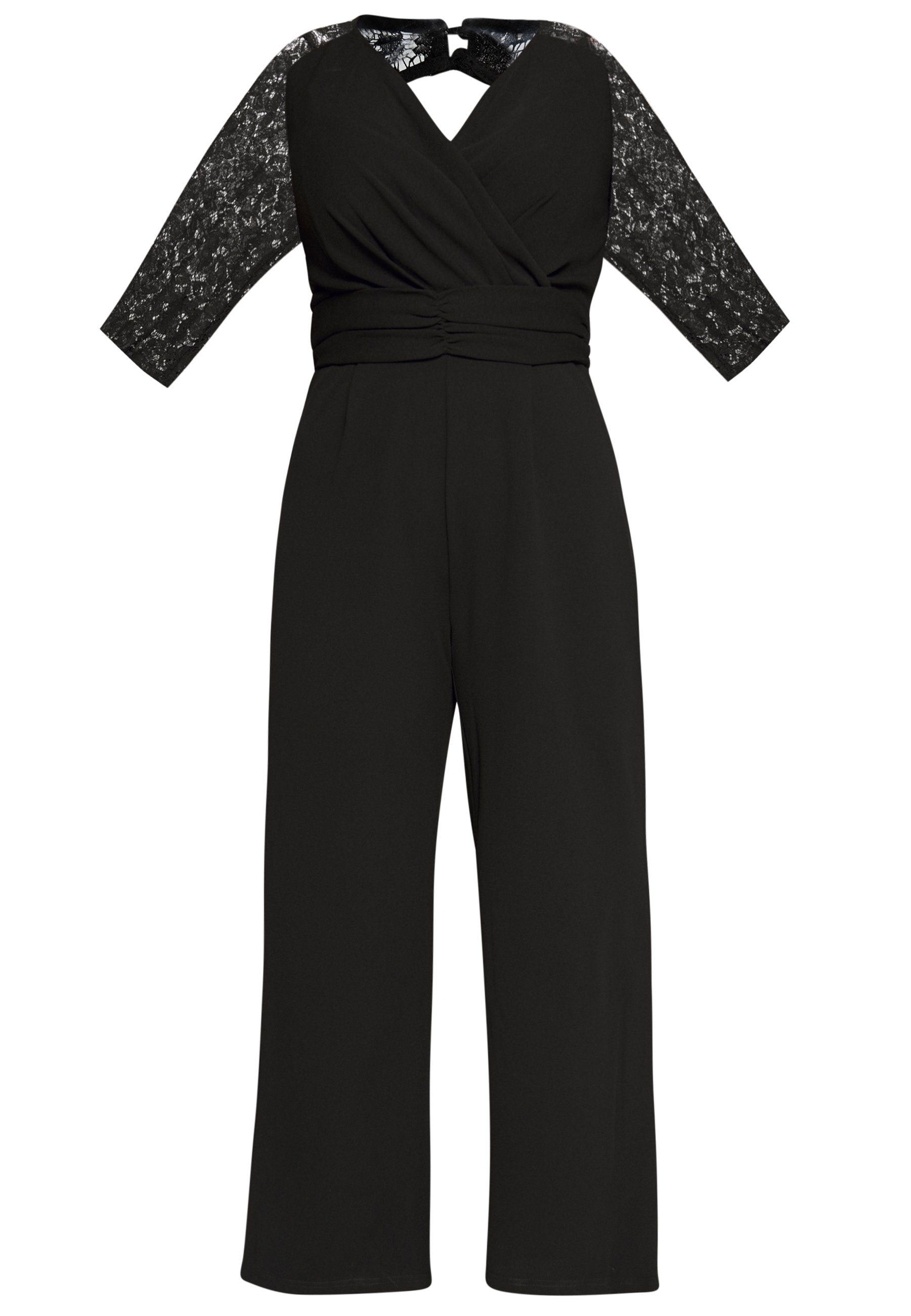 City Chic Overall / Jumpsuit - Black