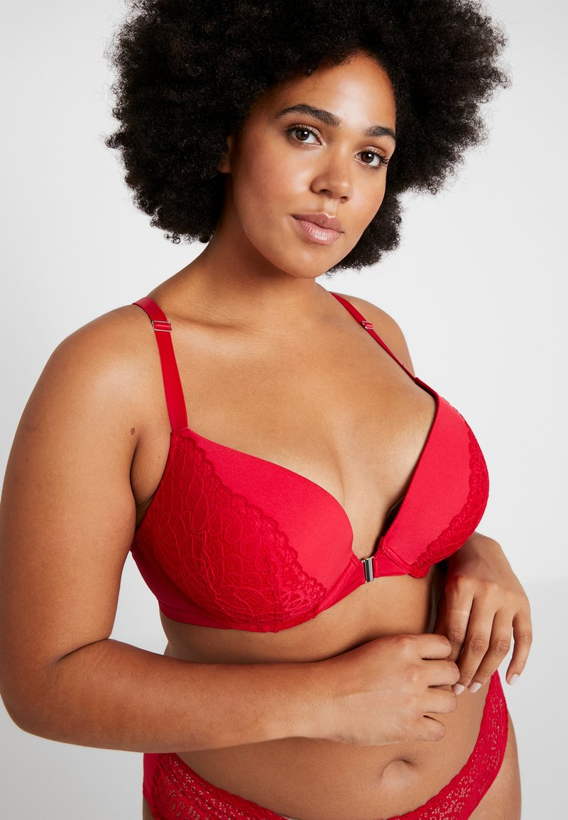 City Chic - HELENA BRA - Push-up-bh'er - red