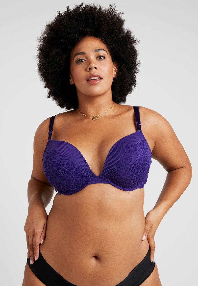 City Chic - JOHANNA BRA - Push-up BH - violet