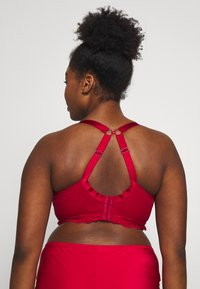 City Chic - SEXY GLAM BRALETTE - Top - berry - 3