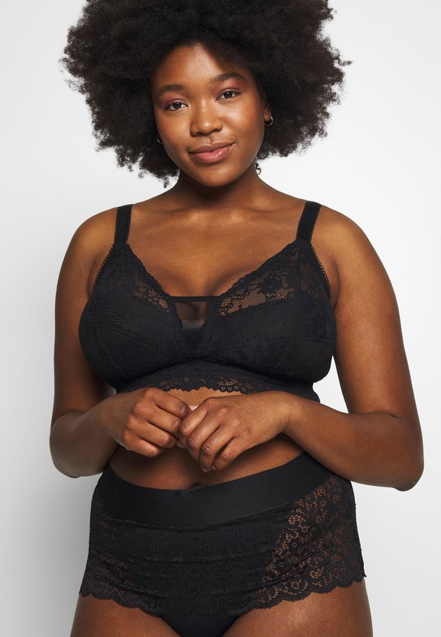 SEXY GLAM BRALETTE - Top - black