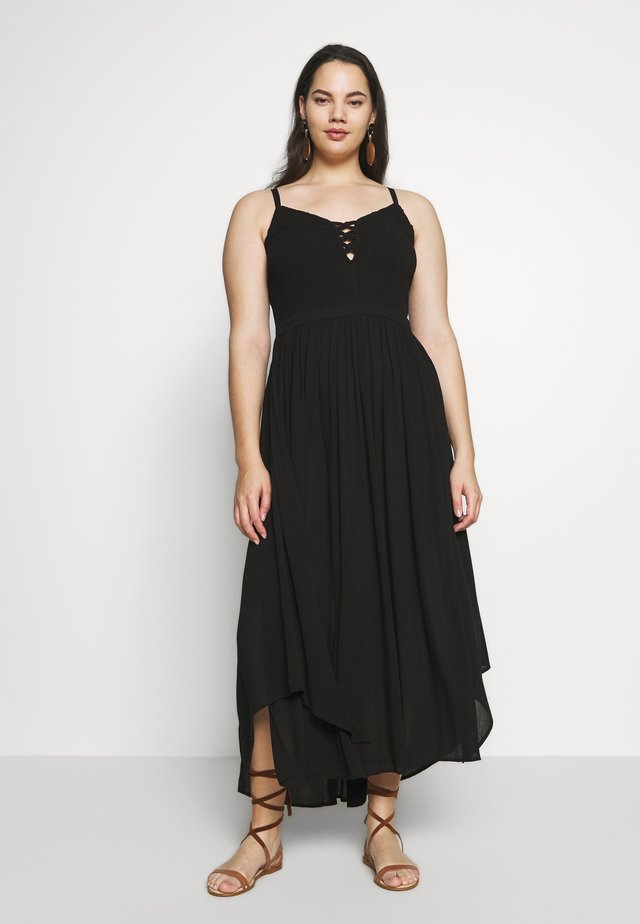 DRESS FREE SPIRIT - Korte jurk - black