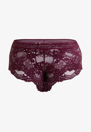 BRONTE SHORTY - Bokserit - plum