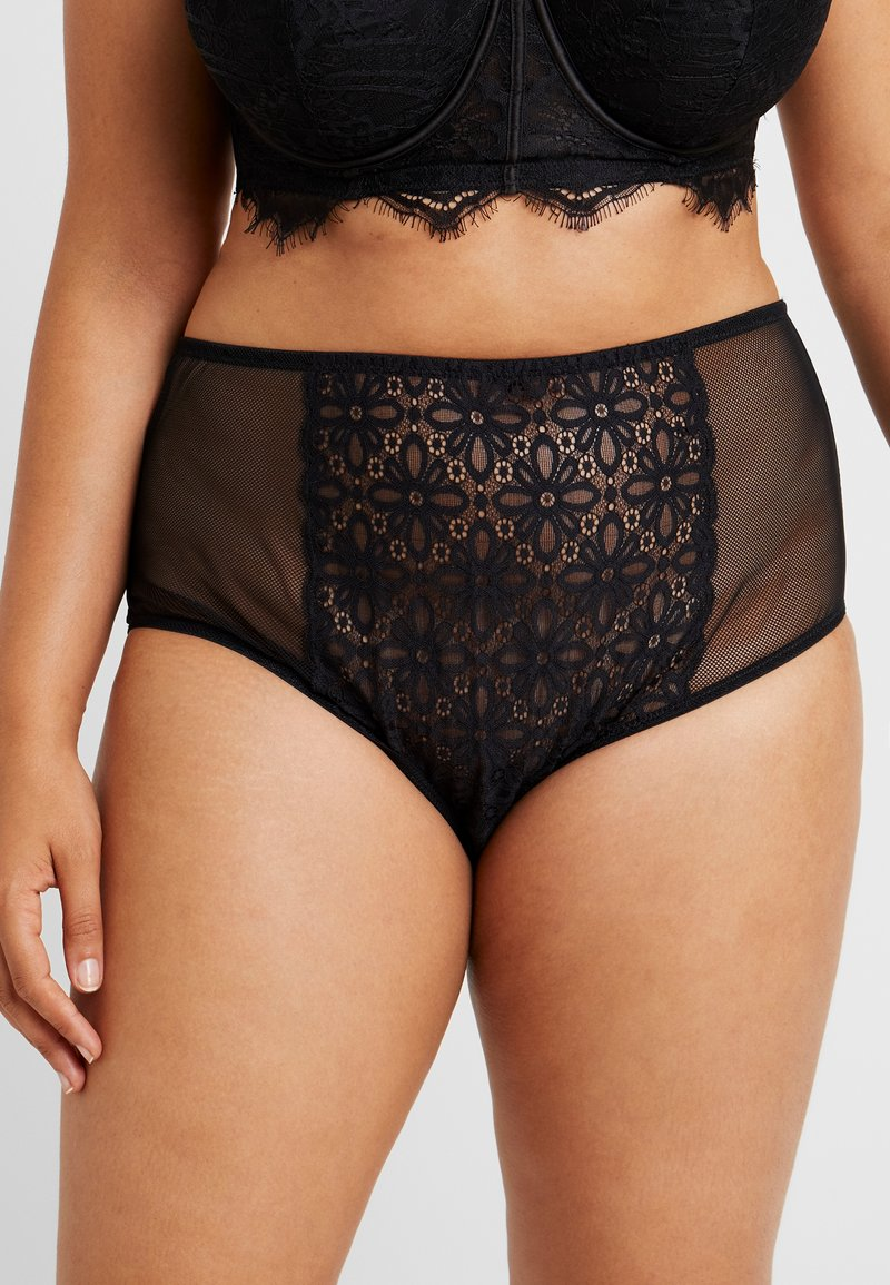 City Chic - JOHANNA HI BIREF - Briefs - black