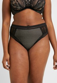 City Chic - LUIZA THONG - Stringit - black - 0