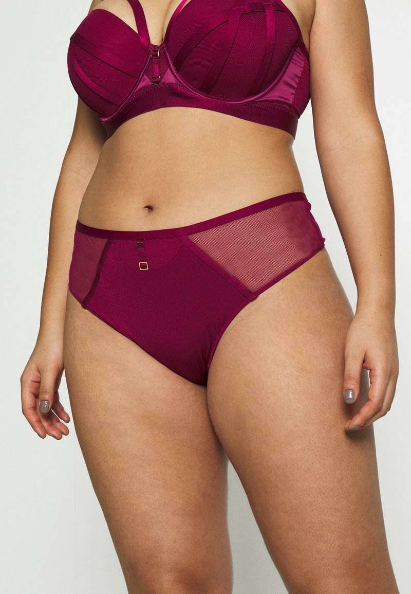 City Chic - ONYX THONG - String - cerise