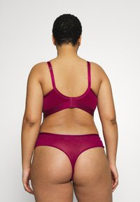 City Chic - ONYX THONG - String - cerise - 2