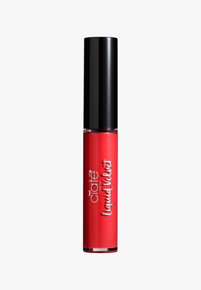 MATTE LIQUID LIPSTICK - Flydende læbestift - starlet-red