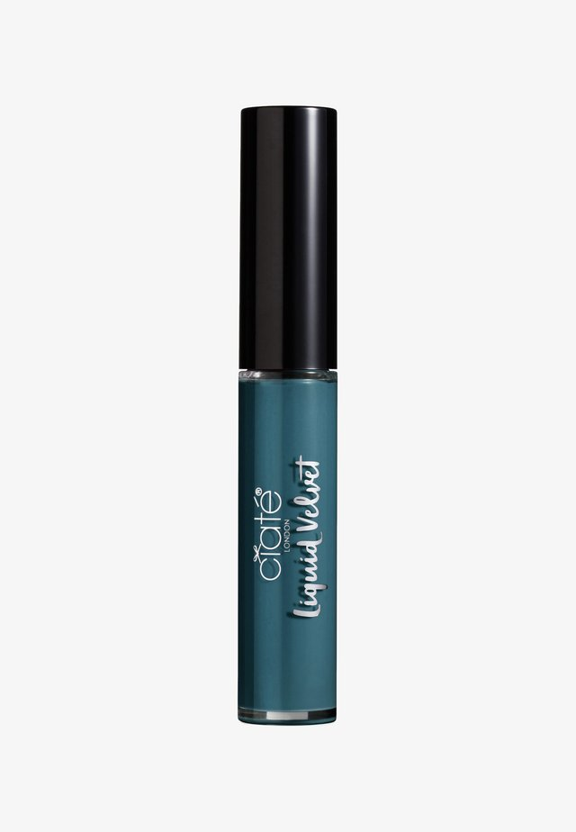 MATTE LIQUID LIPSTICK - Flydende læbestift - envy-teal
