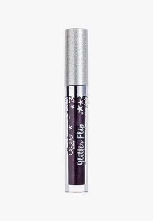 MATTE METALLIC GLITTER LIP - Flydende læbestift - fortune-dark purple