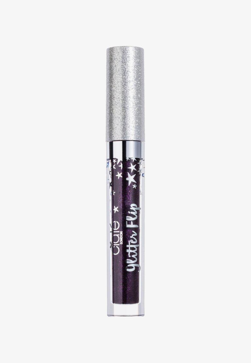 Ciaté - MATTE METALLIC GLITTER LIP - Liquid lipstick - fortune-dark purple