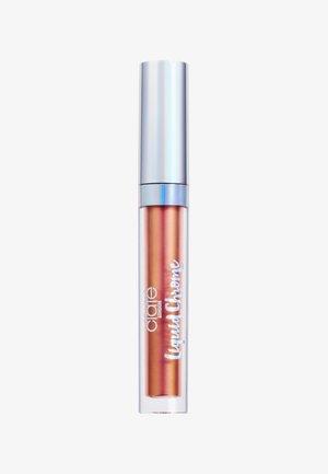 DUO CHROME LIP GLOSS - Läppglans - nova-copper/pink