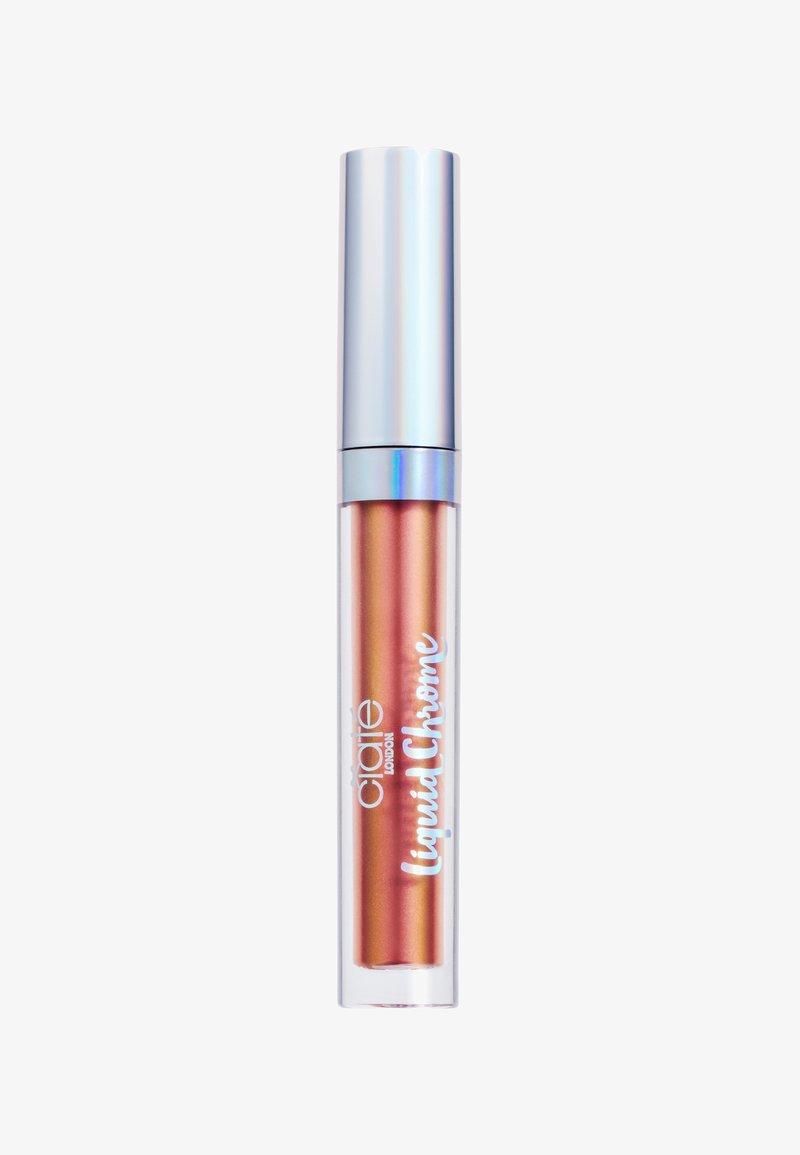 Ciaté - DUO CHROME LIP GLOSS - Läppglans - nova-copper/pink