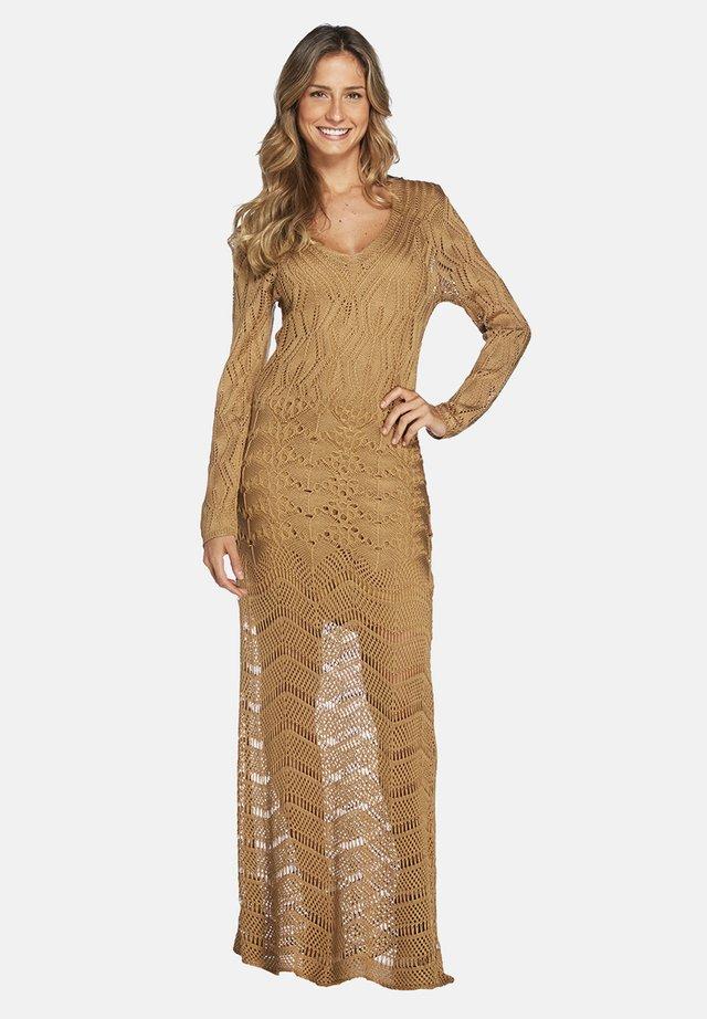 LISOS - Jumper dress - gold