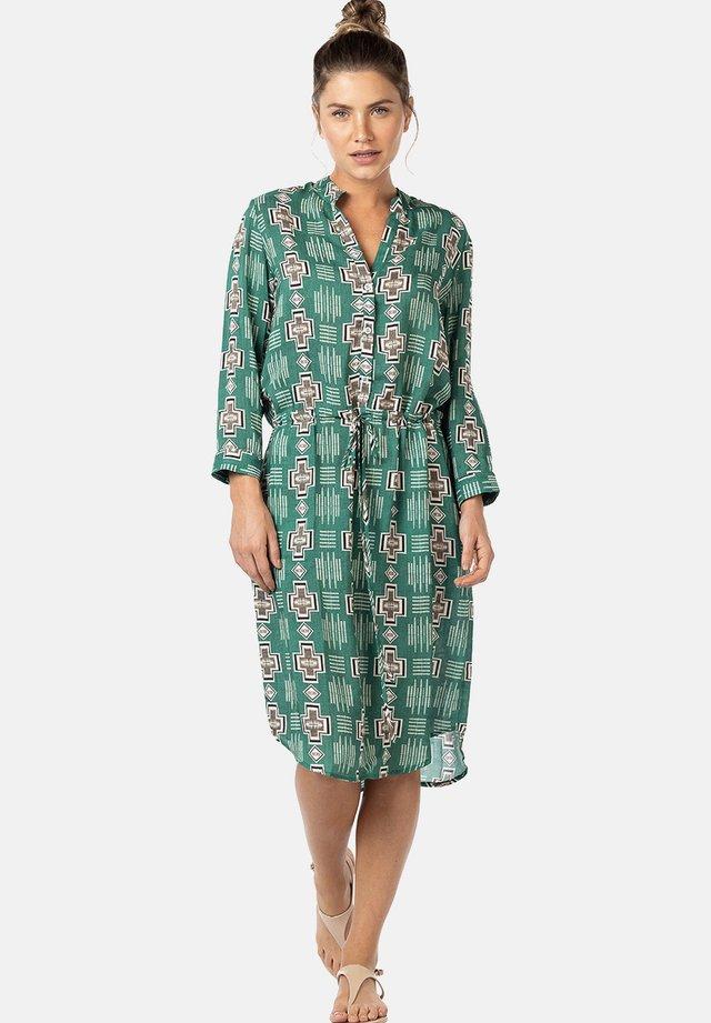 MARFIM - Shirt dress - green