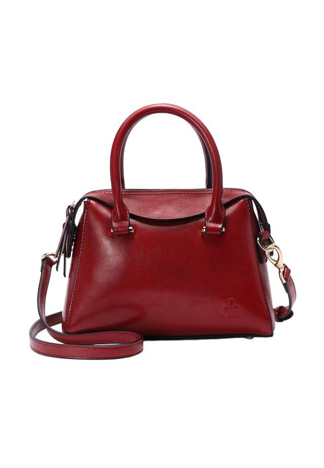 ARIEL - Handbag - weinrot