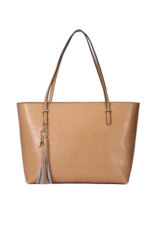 DESIREE - Handbag - beige