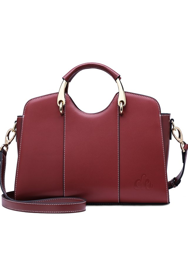 JOEL - Handbag - weinrot