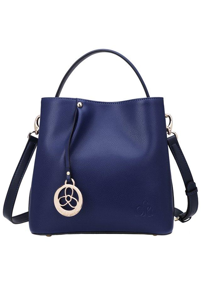 INES - Handtasche - dunkelblau