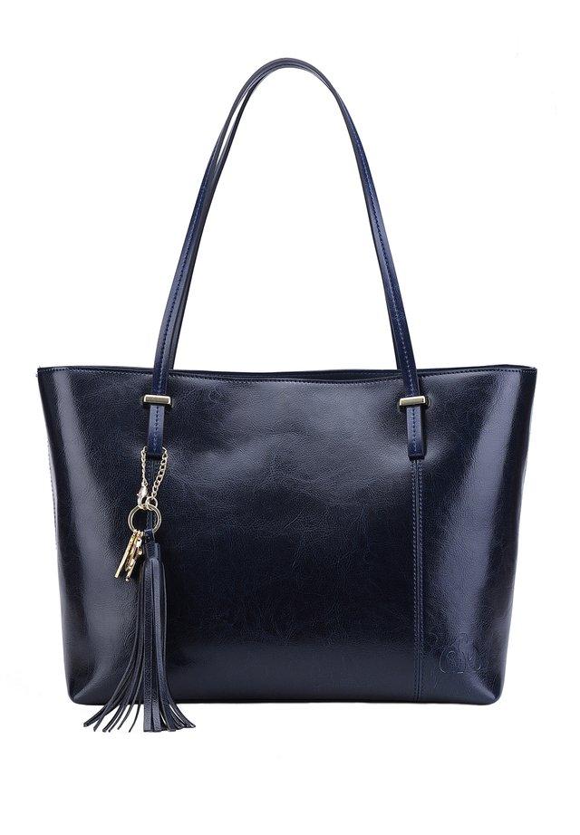 DESIREE - Shopping Bag - blau