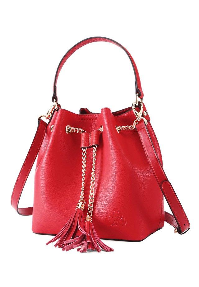 AMELIE - Handbag - rot