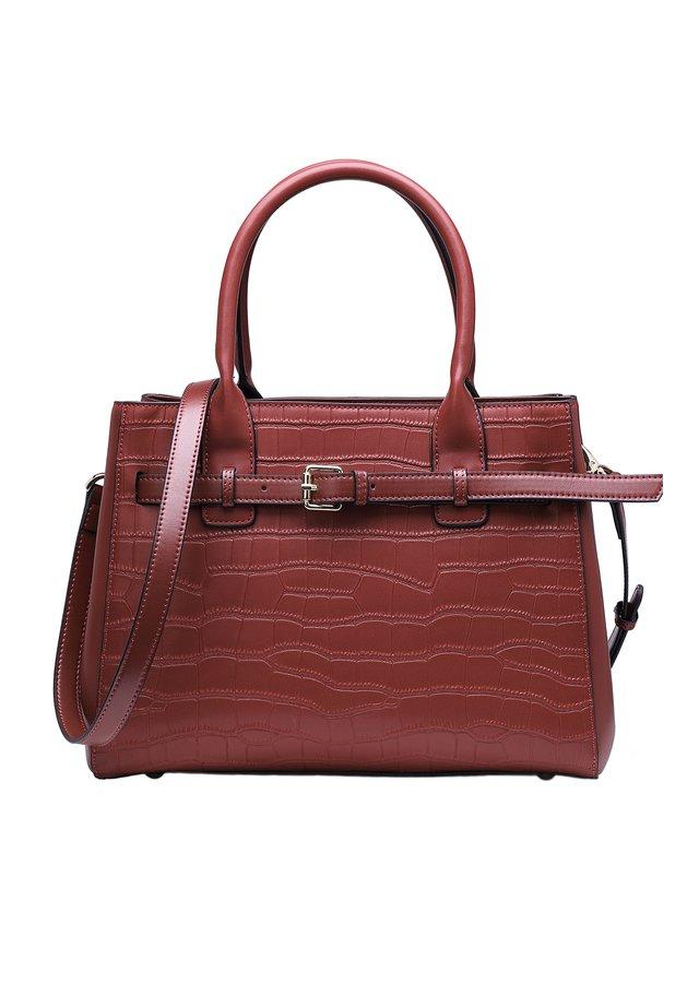 DALLI - Handbag - weinrot
