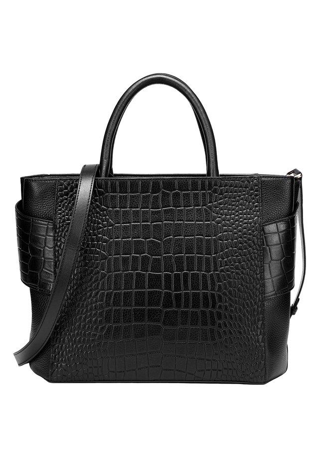 BELLE - Handbag - schwarz