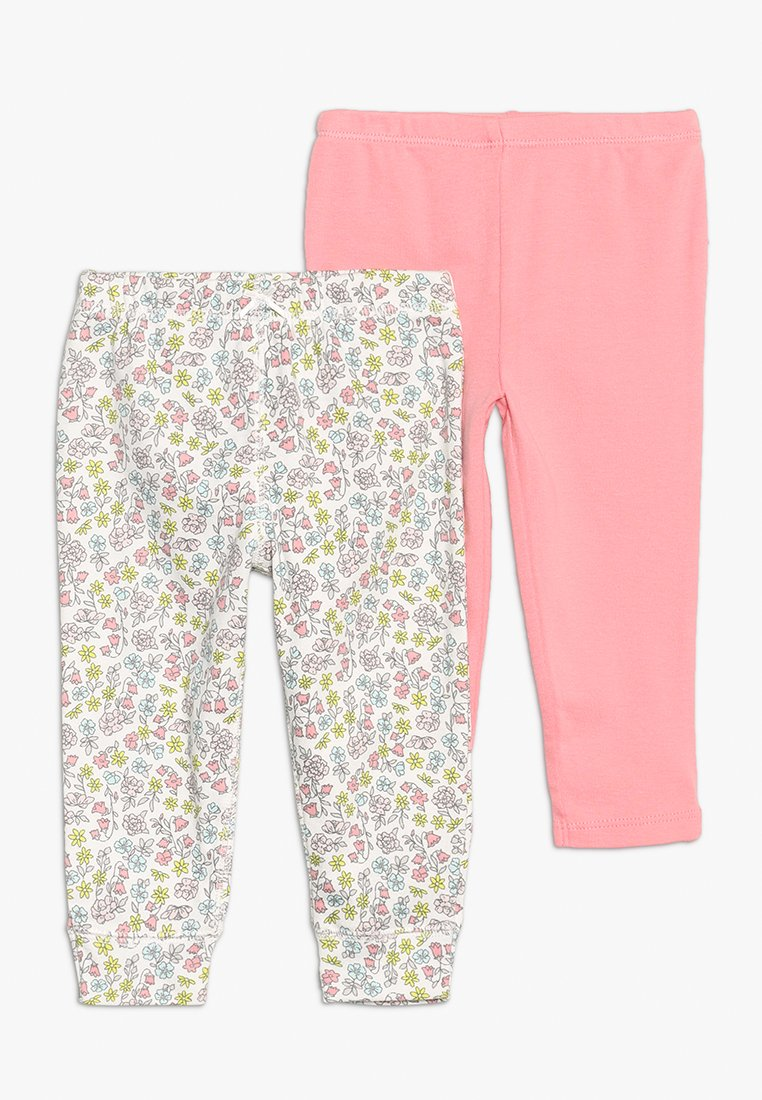 Carter's - PANT GIRL FLORAL RUFFLE BABY 2 PACK - Bukser - pink
