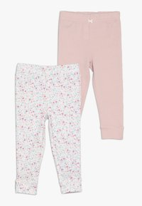 Carter's - PANT BABY 2 PACK - Legíny - pink - 0