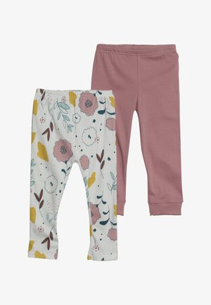 FLORAL PANT BABY 2 PACK  - Leggings - Trousers - multi-coloured
