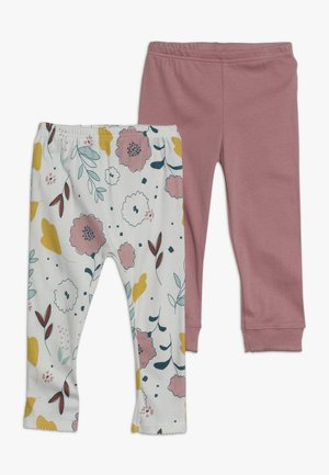 FLORAL PANT BABY 2 PACK  - Leggings - multi-coloured