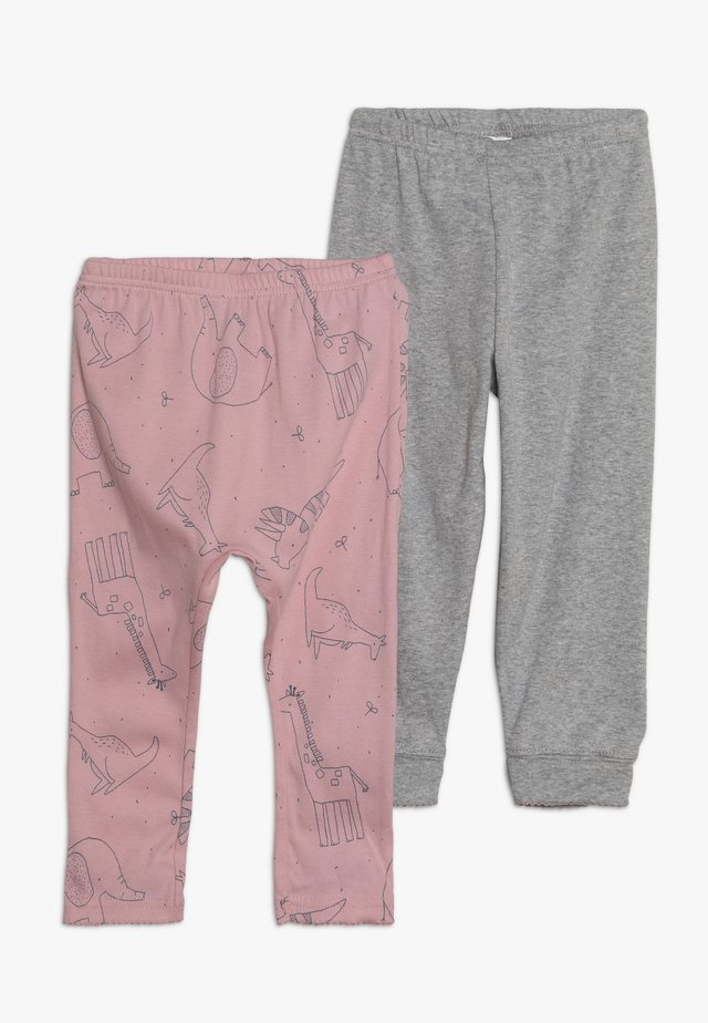 ANIMAL PANT BABY 2 PACK  - Leggings - Trousers - multicolor