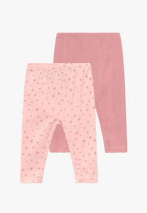 GIRL BABY 2 PACK - Leggings - Trousers - pink