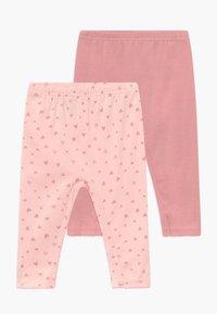 Carter's - GIRL BABY 2 PACK - Legíny - pink - 0