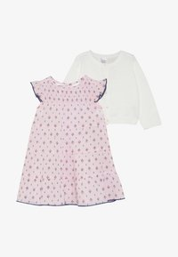 Carter's - BABY DRESS CARDI SET - Strikjakke /Cardigans - rose - 2
