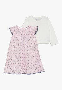 Carter's - BABY DRESS CARDI SET - Strikjakke /Cardigans - rose - 0
