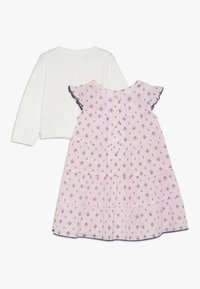 Carter's - BABY DRESS CARDI SET - Strikjakke /Cardigans - rose - 1