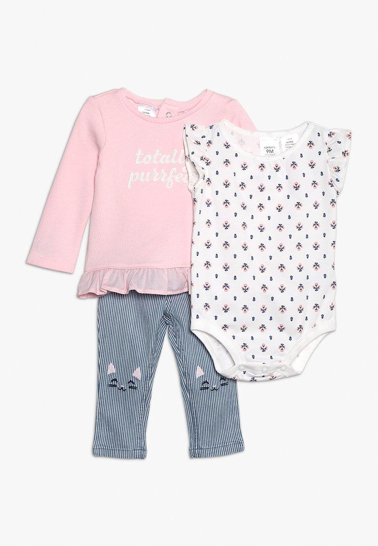 Carter's - BABY SET - Body - rose