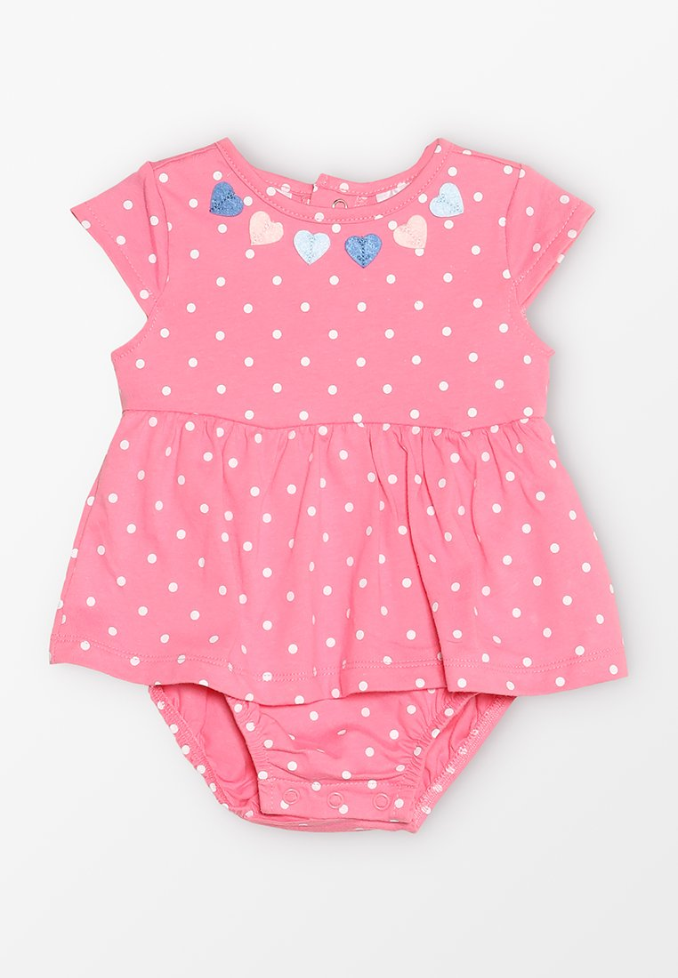 Carter's - BABY SUNSUIT HEART - Overall / Jumpsuit /Buksedragter - pink
