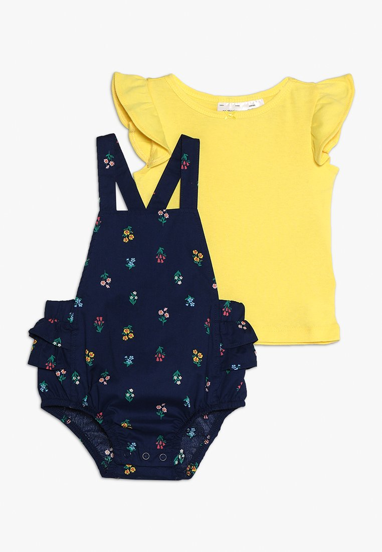 Carter's - BABY SHORTALL SET - Latzhose - yellow