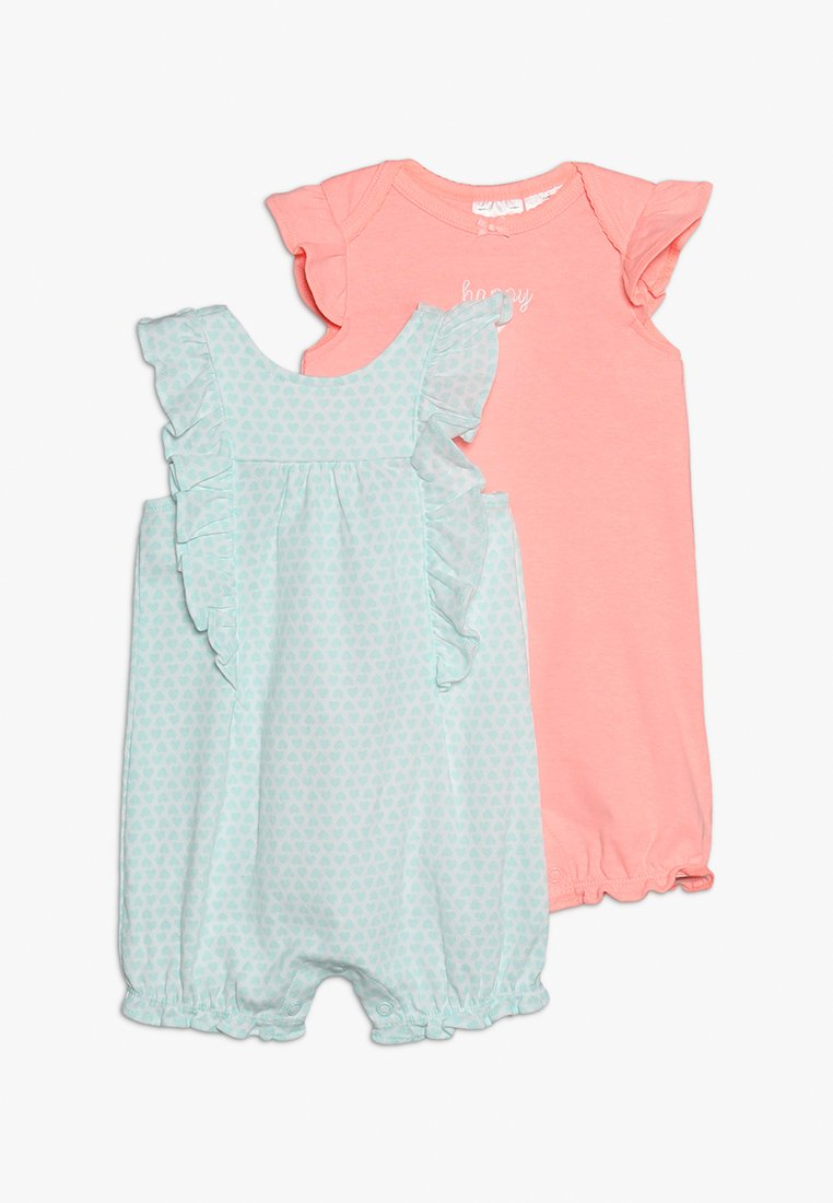 Carter's - BABY 2 PACK - Overall / Jumpsuit /Buksedragter - mint