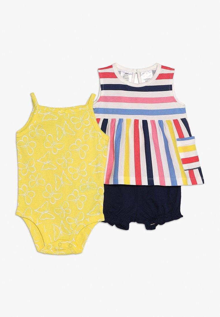 Carter's - BABY MULTI STRIPE SET - Shorts - yellow