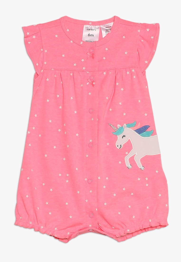 Carter's - BABY DOT UNICORN - Overall / Jumpsuit /Buksedragter - pink