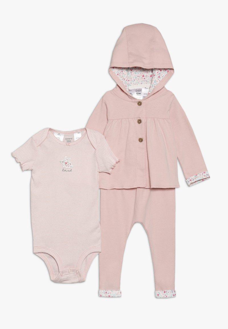 Carter's - CARDI BABY SET - Body - pink